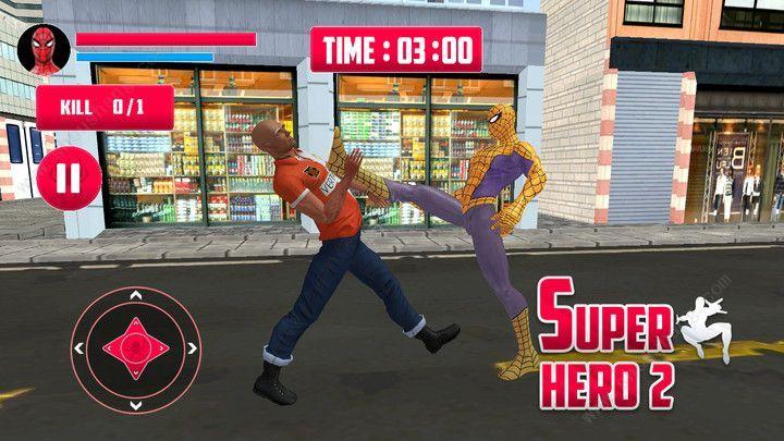 蜘蛛侠绳索英雄2游戏图片1