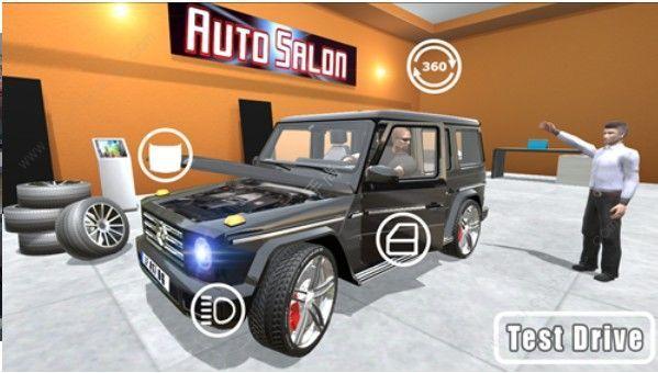 模拟驾驶奔驰大G最新版图片2