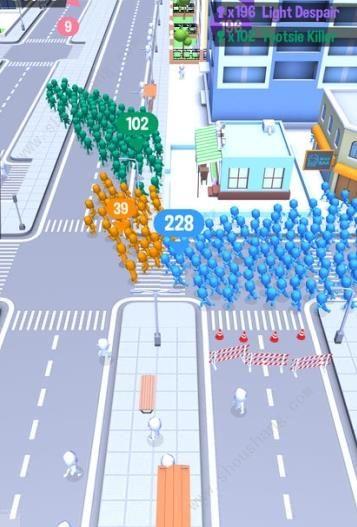 抖音拥挤的城市游戏图片1