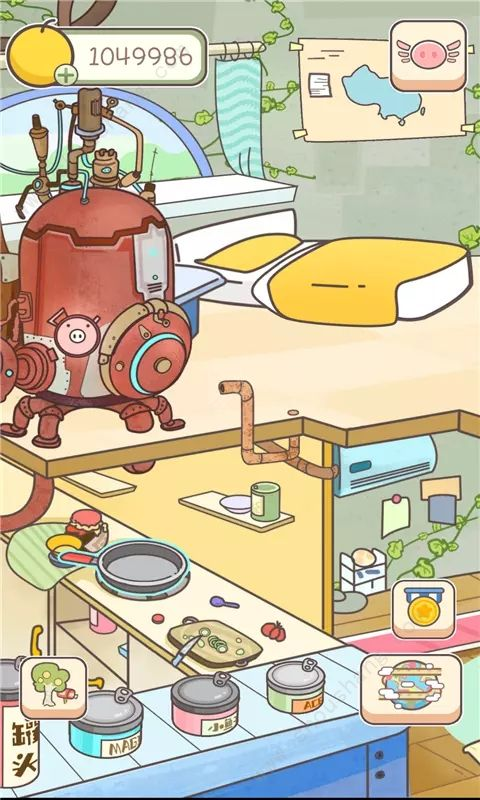 美食家小猪的大冒险游戏破解版图片1