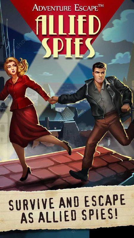 冒险逃生盟军间谍最新版图2