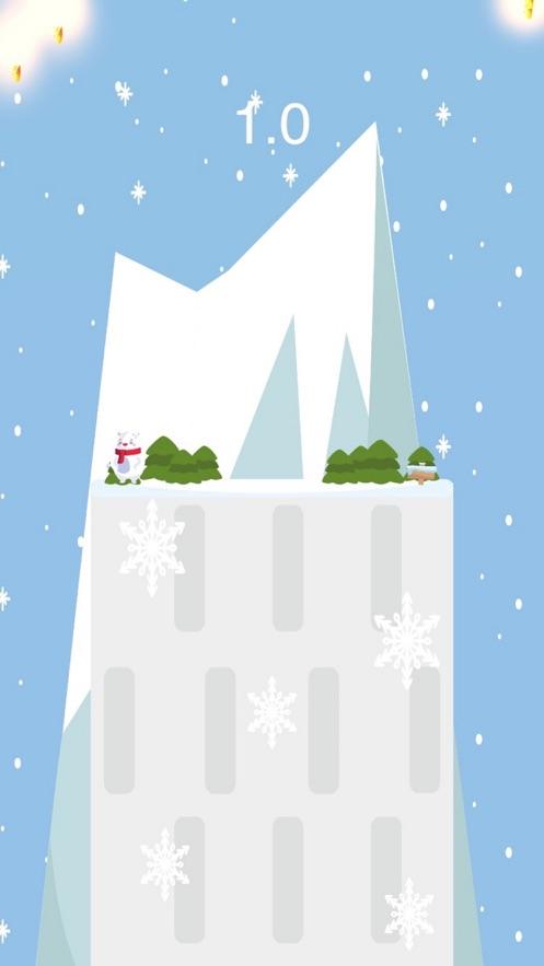 SNOW BEAR RUN雪熊快跑游戏图1