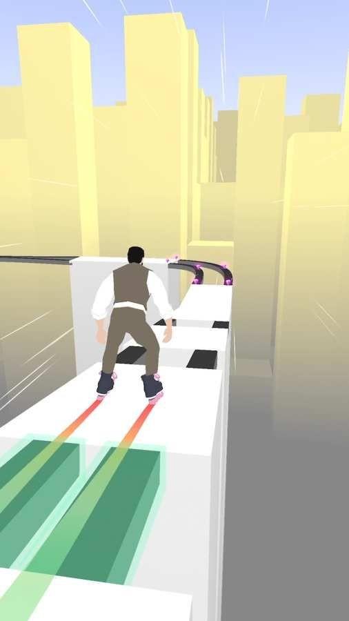 天空轮滑游戏图3