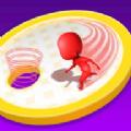 人类进洞比赛3D游戏官方版 v1.0