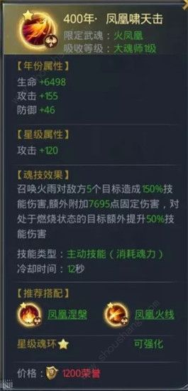 """斗罗大陆h5最新凤凰魂环搭配攻略 """"凤凰不死流""""玩法详解[多图]图片1"""