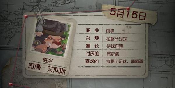 第五人格威廉角色日前锋生日信彩蛋是什么?威廉角色日前锋生日信彩蛋分享[多图]图片1