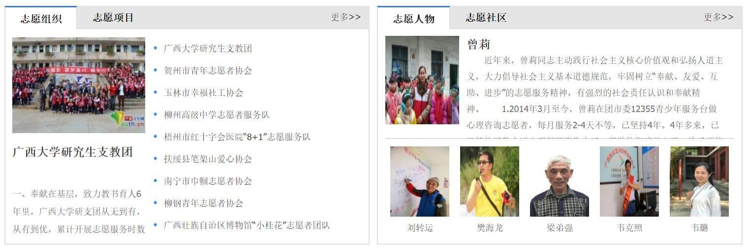 广西志愿服务网登录入口图1
