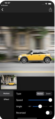 Motion Blur运动模糊平移照片app图3