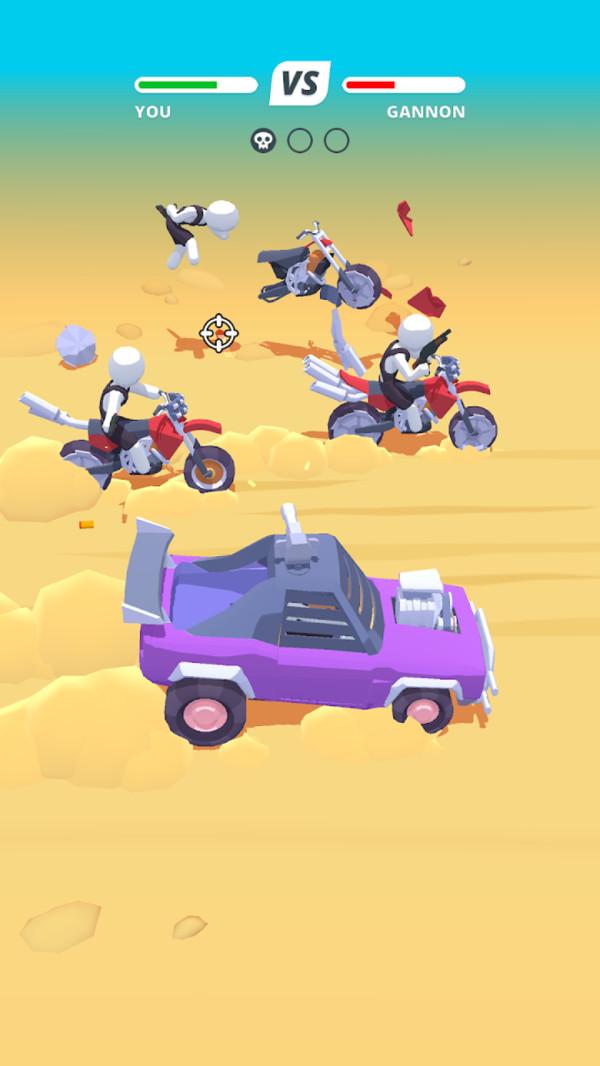 荒原疯狂汽车游戏图3