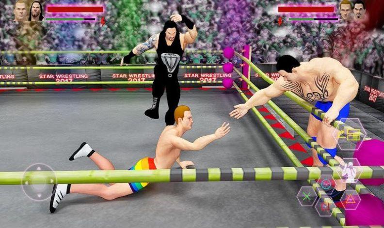 世界之星摔跤赛游戏图3
