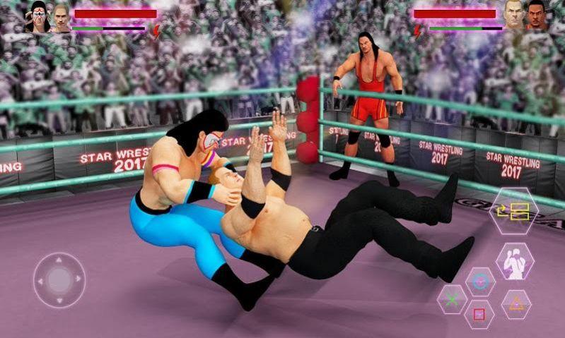 世界之星摔跤赛游戏图片1