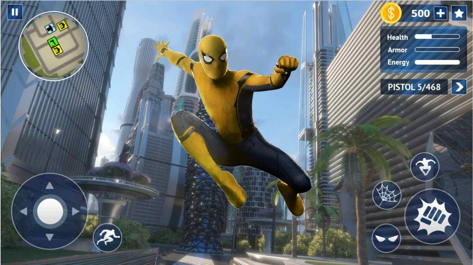 蜘蛛侠最强之战游戏图片2